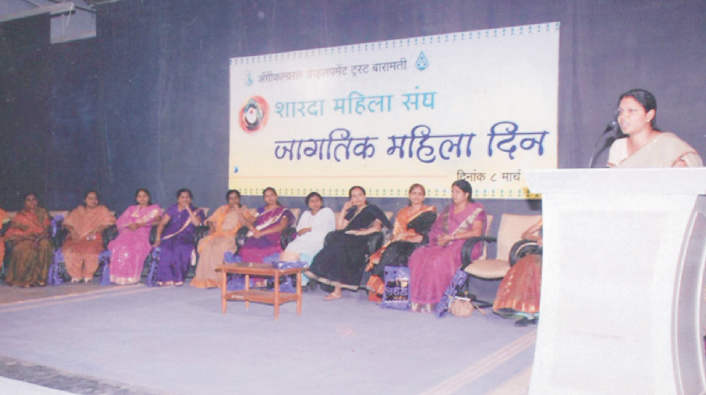 Mrs. Shingade gave a motivational speech on woman & also honored on the occassion of Women's Day on 8th March 2012 .